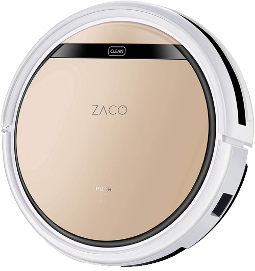 Der Saugroboter Zaco V5 Test bei SmartHomeProdukte.de